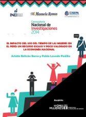 El impacto del uso del tiempo de las mujeres en el Perú: Un recurso escaso y poco valorado en la economía nacional
