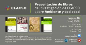 """Investigadora Deborah Delgado en presentación de libros de CLACSO """"Ambiente y sociedad"""""""
