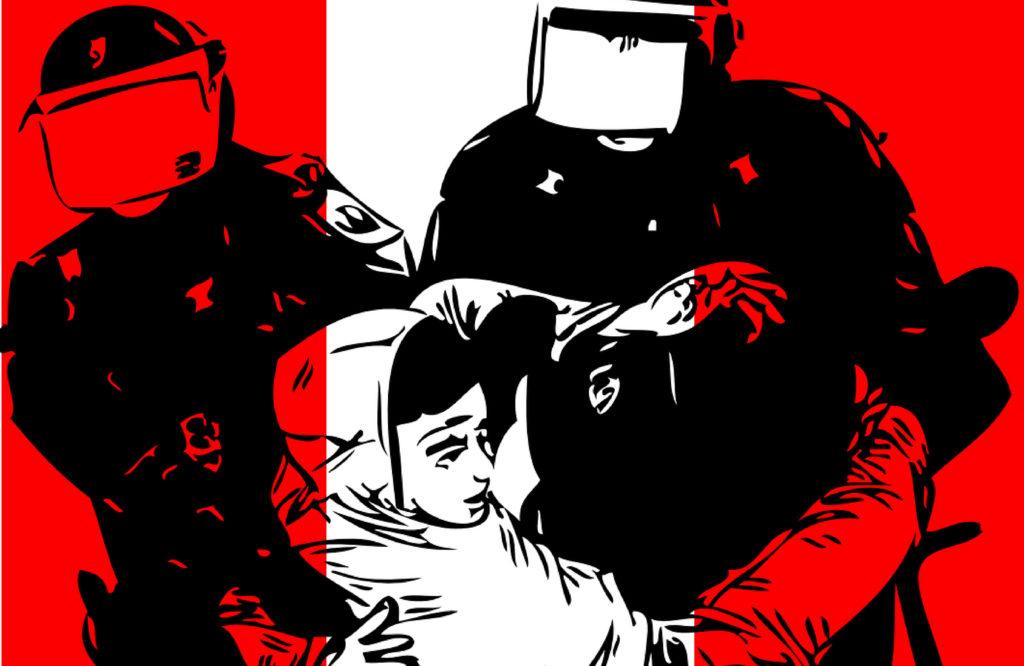 Violencia policial, legitimidad de la protesta y racialización de la geografía