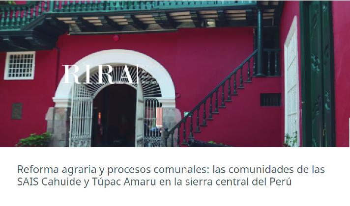 Nuevo artículo de investigador Alejandro Diez disponible en la RIRA