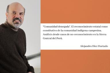 Acceso al nuevo artículo del investigador Alejandro Diez Hurtado