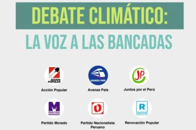 El GEAS organiza un debate climático entre candidatos al Congreso