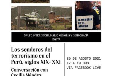 Conversatorio «Los senderos del terrorismo en el Perú, siglos XIX-XXI»