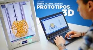 Inscríbete al curso de Fabricación de Prototipos 3D- Agosto