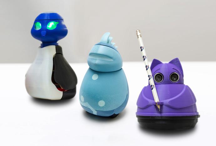 Robots elaborados en VEO obtienen registro de Diseño Industrial en Indecopi